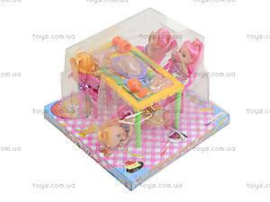 Игровой набор «Столик с куклами», 10235, купить