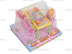 Игровой набор «Столик с куклами», 10235, фото