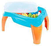 Столик с набором конструктора, 42 детали, 41490, фото