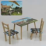 Столик и стульчики «Баранчик Шон», С068, фото