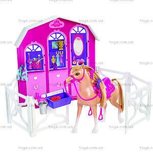 Стойло с лошадью «Барби в сказке про пони», Y7554, фото