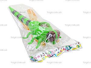 Заводная игрушка «Стрекоза» со световым эффектом, 866-19B, фото