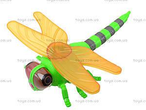 Заводная игрушка «Стрекоза» со световым эффектом, 866-19B, цена