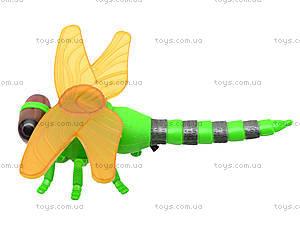Заводная игрушка «Стрекоза» со световым эффектом, 866-19B, игрушки