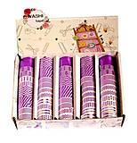 Лента декоративная бумажная, фольгированная фиолетовая 12 шт , 8663, игрушка