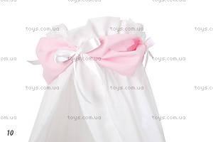 Лента на балдахин Sweet, розовая, 0000-Sweet, рожева