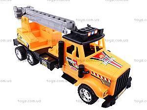 Строительный грузовик с лестницей, 0904A1192, игрушки