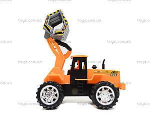 Детская машинка-стройка инерционная, 358-1, купить