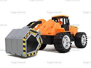 Детская машинка-стройка инерционная, 358-1, игрушки