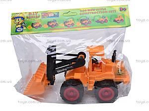 Стройтехника «Бульдозер», YD-6285, игрушки