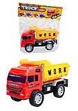 Игрушечный грузовик «Строительная техника», 009-09A