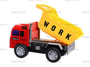 Игрушечный грузовик «Строительная техника», 009-09A, игрушки
