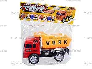Игрушечный грузовик «Строительная техника», 009-09A, детские игрушки
