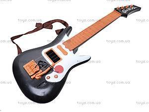 Струнная гитара, с ремешком, Q695A7, фото