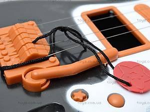 Струнная гитара, с ремешком, Q695A7, игрушки