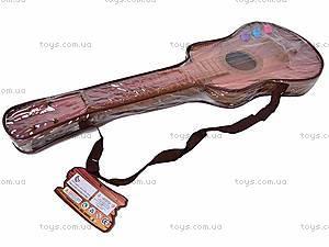 Струнная гитара, в чехле, 19099C, фото