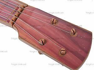Струнная гитара, в чехле, 19099C, игрушки