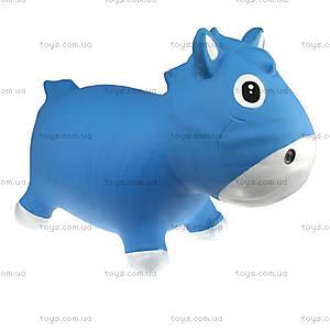Детский прыгун «Лошадка Гарри», голубо-белый, KFPO130203