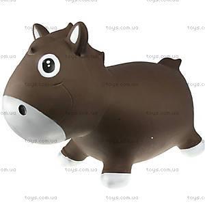 Резиновый прыгун «Лошадка Гарри», шоколадно-белый, KFPO130207