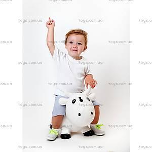 Резиновый прыгун «Коровка Белла», лилово-белый, KFMC130106, купить