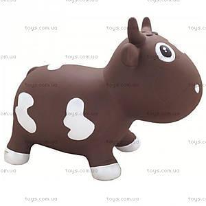 Детский прыгун «Коровка Белла», шоколадно-белый, KFMC130107