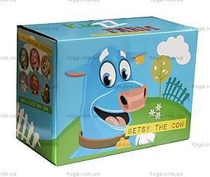 Прыгун для детей «Коровка Бетси», шоколадно-белый, KFMC130307, фото