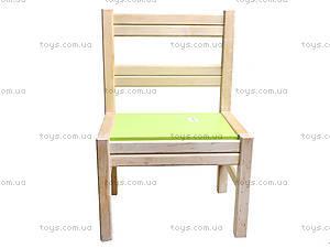 Деревянный стульчик для детского садика, 171928, купить
