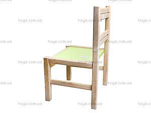 Деревянный стульчик для детского садика, 171928, фото