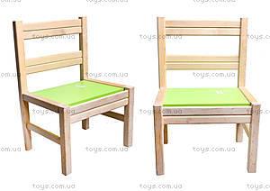 Деревянный стульчик для детского садика, 171928