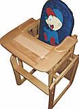 Стульчик для кормления Мальчик ArIn WOOD, 04-004, toys.com.ua