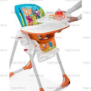 Стульчик для кормления Polly 2 in 1, желтый, 79065.77.00, магазин игрушек