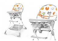 Стульчик для кормления TILLY Buddy, Beige Cats , T-633 Beige Cats, интернет магазин22 игрушки Украина