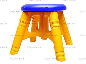 Стульчик пластиковый, 1296 ср0020501015.01, фото