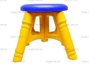 Стульчик пластиковый, 1296 ср0020501015.01, цена