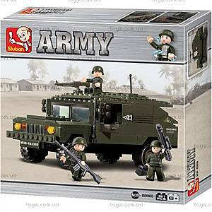 Конструктор детский «Сухопутные войска», M38-B9900