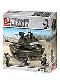 Конструктор «Сухопутные войска. Танк», M38-B6500, отзывы