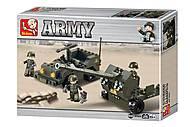 Конструктор «Сухопутные войска. Вездеход и пушка», M38-B5900, купить