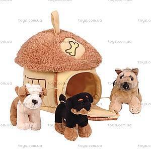 Сумка-домик с собаками, 21-912051