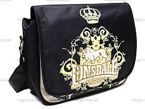 Подростковая сумка на плечо Lonsdale, LSAB-RT3-9532, магазин игрушек