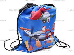 Сумка-рюкзак для обуви «Самолеты», PLBB-MT1-883