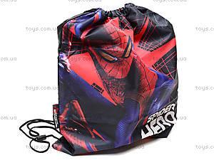 Сумка-рюкзак для обуви «Спайдермен», SM4M-12T-883, цена