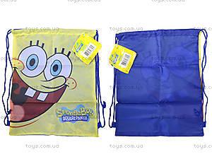 Сумка-рюкзак для обуви «Спанч Боб», SPBK-12T-883