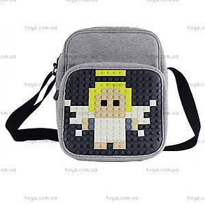 Молодежная сумка Upixel Textile, черная, WY-A007U, купить