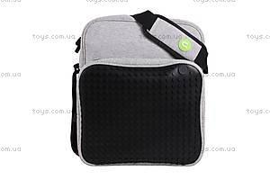 Молодежная сумка Upixel Textile, черная, WY-A007U