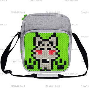 Молодежная сумка Upixel Textile, салатовая, WY-A007K, фото