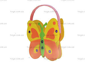 Сумочка из фетра «Бабочка» для девочки, 114, купить