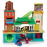 Супер-набор «Штаб-квартира с Майки и Сплинтером», 96901, toys
