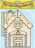 Супер шнуровочка «Дом», 91416, фото