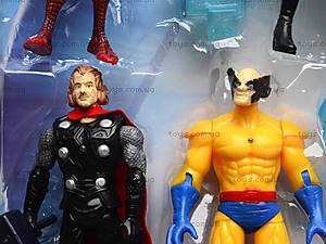 Набор игровых фигурок «Супергерои», 200729, цена