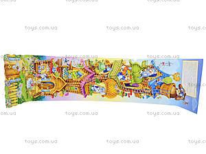 Книга-раскладушка для детей «Теремок», А7389У, фото